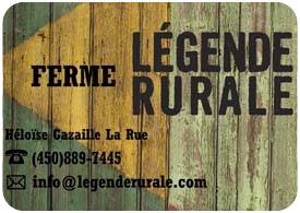 Ferme Légende rurale
